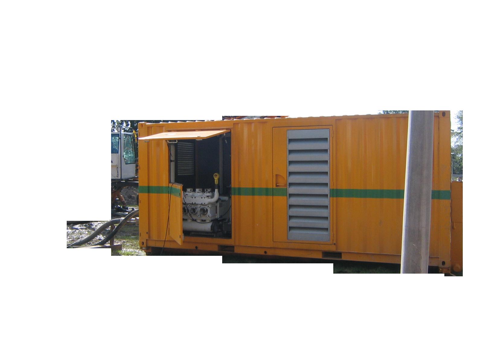Pompe HP – P2500D